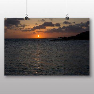 Big Box Art 'Dusk and the Ocean No.2' Photographic Print