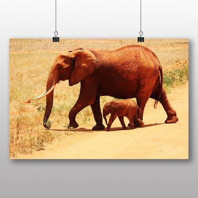 Big Box Art Elephant No.2 Photographic Print Wrapped on Canvas