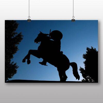 Big Box Art Cowboy Photographic Print on Canvas