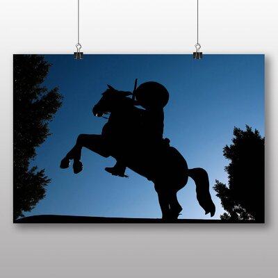 Big Box Art Cowboy Photographic Print