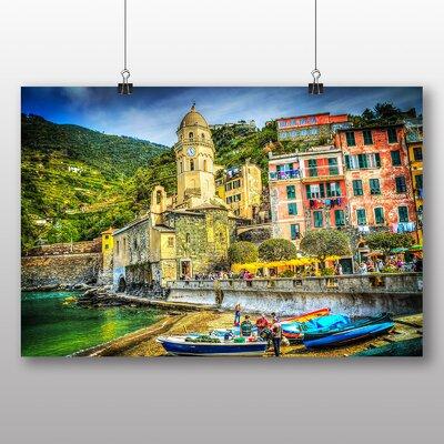 Big Box Art Cinque Terre Italy No.5 Art Print on Canvas