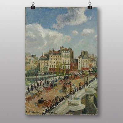 "Big Box Art ""The Pont Neuf"" by Camille Pissarro Art Print"