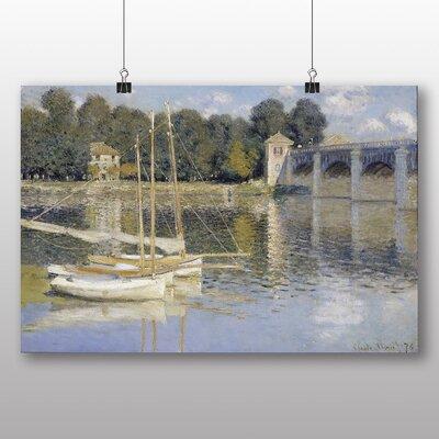Big Box Art 'The Argenteuil Bridge' by Claude Monet Art Print