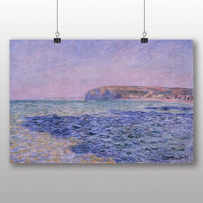 Big Box Art 'Seascape' by Claude Monet Art Print