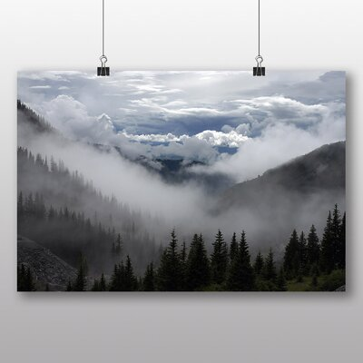 Big Box Art 'Clouds Over the Fir Trees' Photographic Print