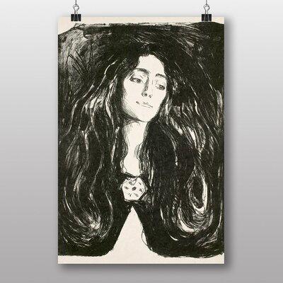 Big Box Art Eva Mudocci by Edvard Munch Art Print