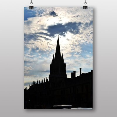 Big Box Art Church Spire Oxford Photographic Print