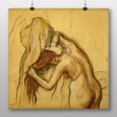 Big Box Art 'After the Bath' by Edgar Degas Art Print