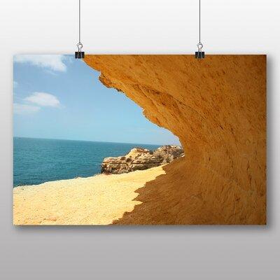 Big Box Art 'Cliff and Sand' Photographic Print