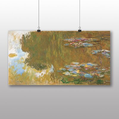 Big Box Art 'The Water Lilly Pond' by Claude Monet Art Print