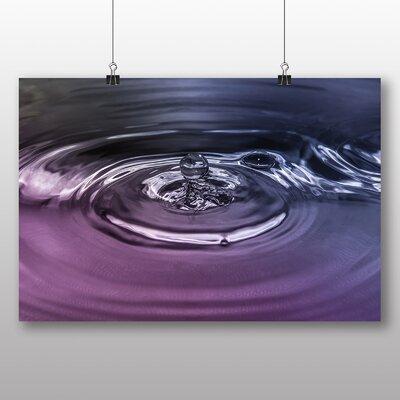 Big Box Art Drops of Water Rain No.1 Graphic Art on Canvas