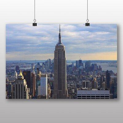 Big Box Art Empire State Building New York City Skyline No.4 Photographic Print