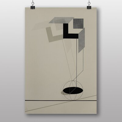 """Big Box Art """"Abstract"""" by El Lissitzky Graphic Art"""