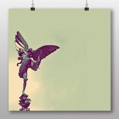 Big Box Art Eros Statue London Photographic Print