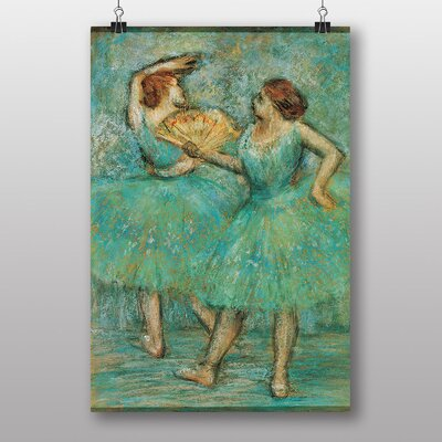 "Big Box Art ""Two Dancers"" by Edgar Degas Art Print"