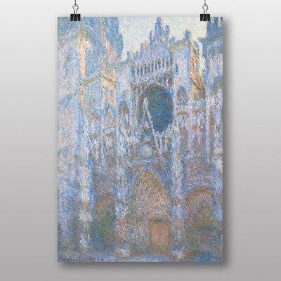 "Big Box Art ""Rouen Cathedral"" by Claude Monet Art Print"