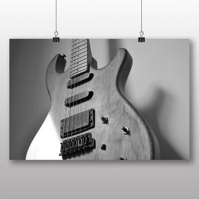 Big Box Art Electric Guitar Photographic Print on Canvas