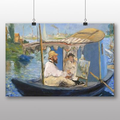 Big Box Art 'The Painter' by Edouard Manet Art Print