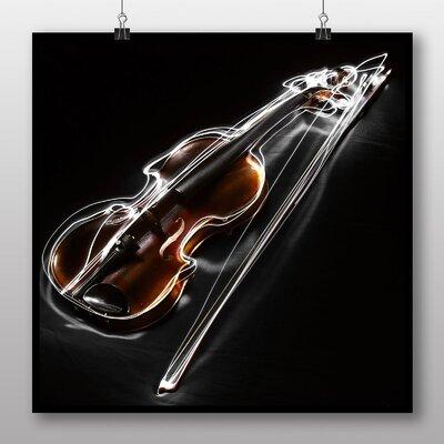 Big Box Art Bow Instrument Graphic Art