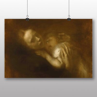 Big Box Art 'Mother and Child' by Eugene Carriere Art Print