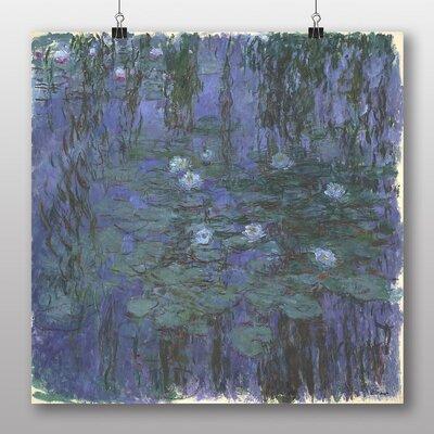 Big Box Art 'Water LIllies No.2' by Claude Monet Art Print