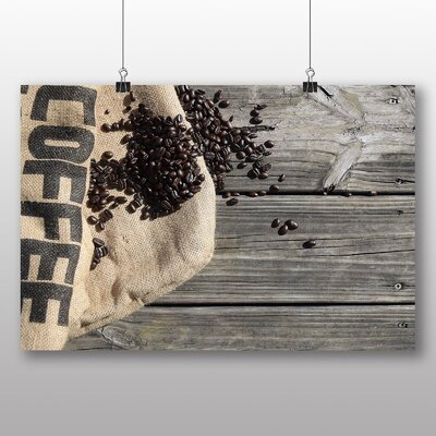Big Box Art Coffee Beans No.1 Photographic Print on Canvas