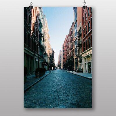 Big Box Art 'Cobbled Street' Photographic Print