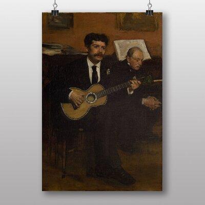 "Big Box Art ""Lorenzo Pagans and Auguste de Gas"" by Edgar Degas Art Print"