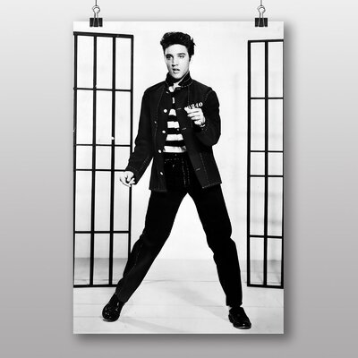 Big Box Art Elvis Presley Jailhouse Rock No.2 Photographic Print