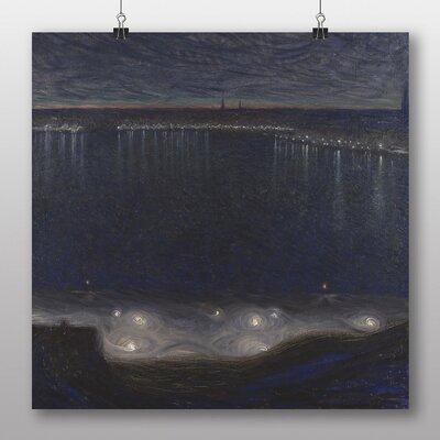 Big Box Art 'Night Scene across the Bay' by Eugene Jansson Art Print