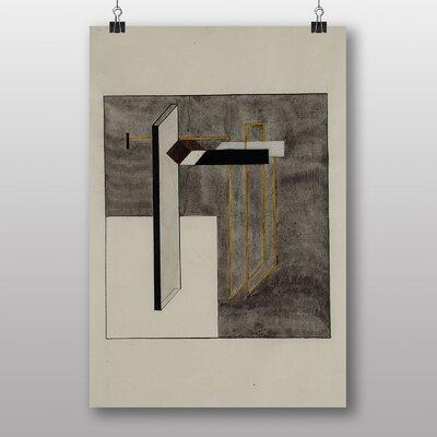 Big Box Art Study Praun 4b by El Lissitzky Art Print