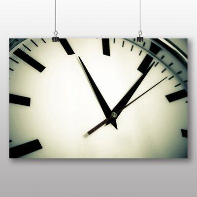 Big Box Art Clock Photographic Print