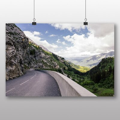 Big Box Art 'Fall Mountain Road' Photographic Print