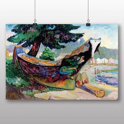 Big Box Art 'Indian War Canoe' by Emily Carr Art Print