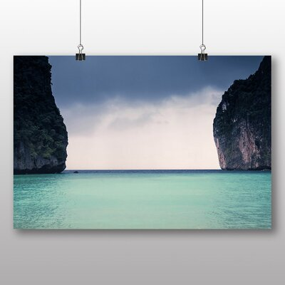 Big Box Art Fall into the Gap Photographic Print Wrapped on Canvas