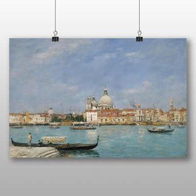 Big Box Art 'Venice' by Eugene Boudin Art Print