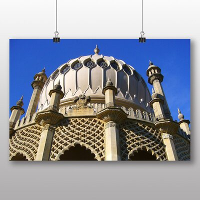Big Box Art Brighton Royal Pavilion Photographic Print Wrapped on Canvas