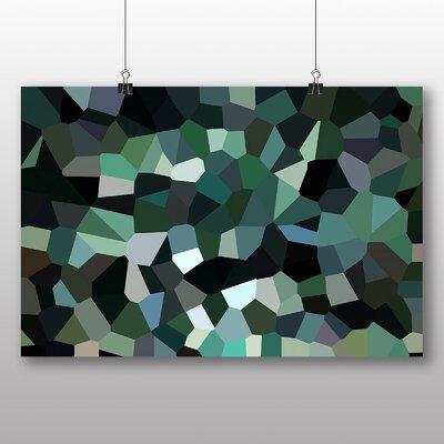 Big Box Art Crystallise Abstract No.1 Graphic Art