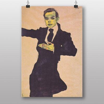 "Big Box Art ""Maler Max"" by Egon Schiele Art Print"