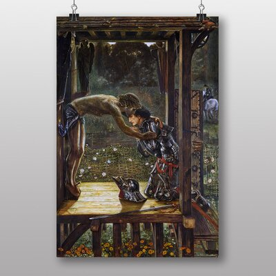 "Big Box Art ""The Merciful Knight"" by Edward Burne-Jones Art Print"