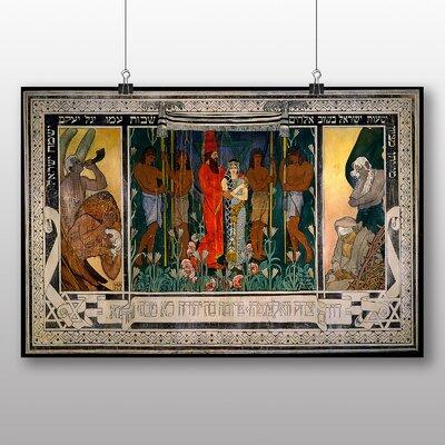Big Box Art 'An Allegorical Wedding' by Ephraim Moses Lilien Art Print
