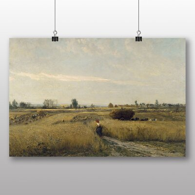 Big Box Art 'Harvest' by Charles Francois Daubigny Art Print