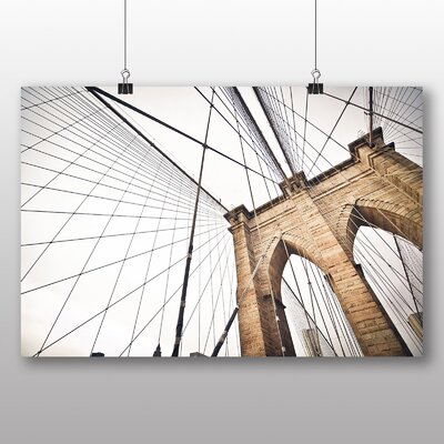 Big Box Art Brooklyn Bridge New York USA No.1 Photographic Print
