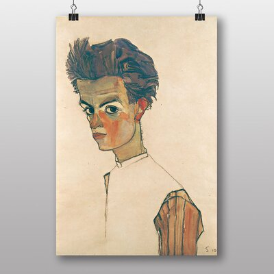 Big Box Art Self Portrait No.1 by Egon Schiele Art Print