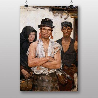 "Big Box Art ""Spanish Blacksmiths"" by Ernst Josephson Art Print"