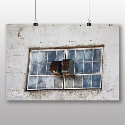 Big Box Art 'Damaged Window' Photographic Print