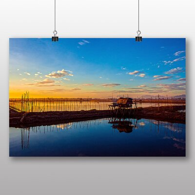 Big Box Art Evening Sunset No.1 Photographic Print Wrapped on Canvas