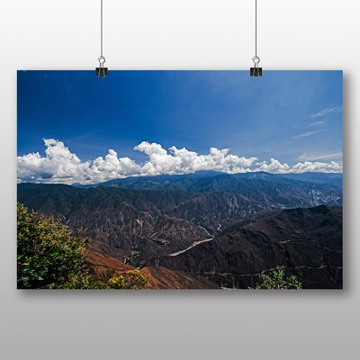 Big Box Art Colombia Mountain Photographic Print Wrapped on Canvas