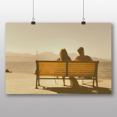 Big Box Art 'Couple on a Bench' Photographic Print