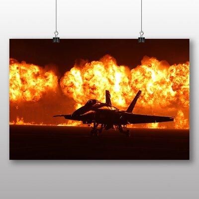 Big Box Art Fighter Jet No.4 Photographic Print
